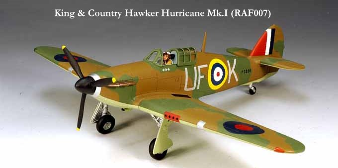 King & Country - Hawker Hurricane Mk.I (RAF007)