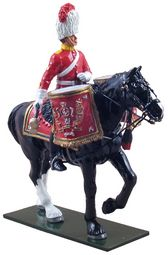 BR48012 -- Royal Scots Dragoon Guards Mounted Kettle Drummer
