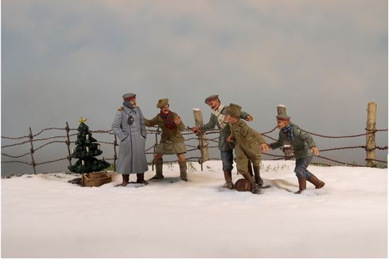 Wwi Christmas Truce.World War One Christmas Truce 1914 By Britains Sierra Toy