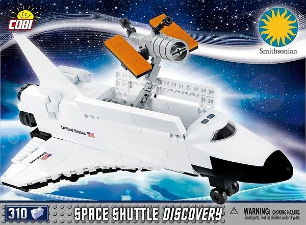 COBI-21076 Space Shuttle Discovery