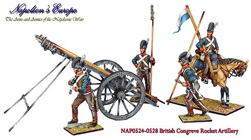 NAP0524 British Rocket Troop Officer