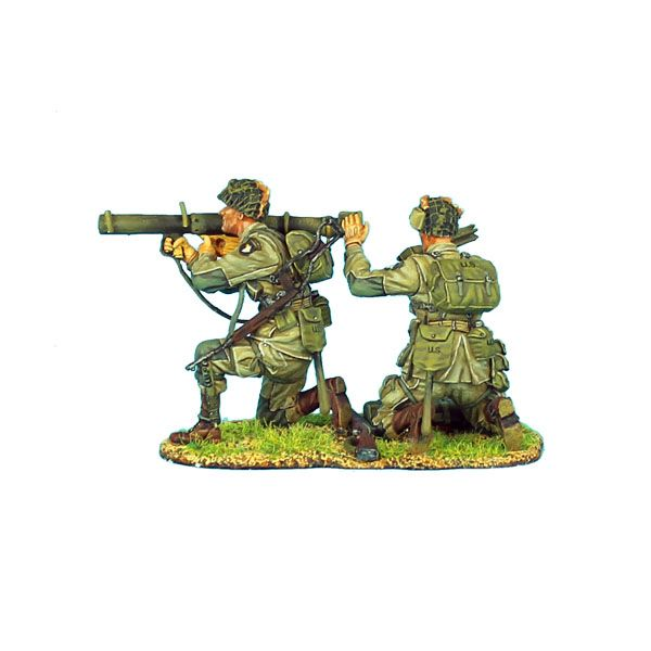 NOR011 US 101st Airborne Paratrooper Bazooka Team