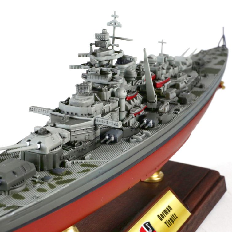 fv 861005a bismarck class battleship diecast model german navy