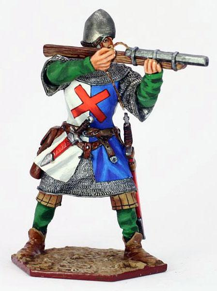 Burgundian Arquebusier - The Hundred Years War