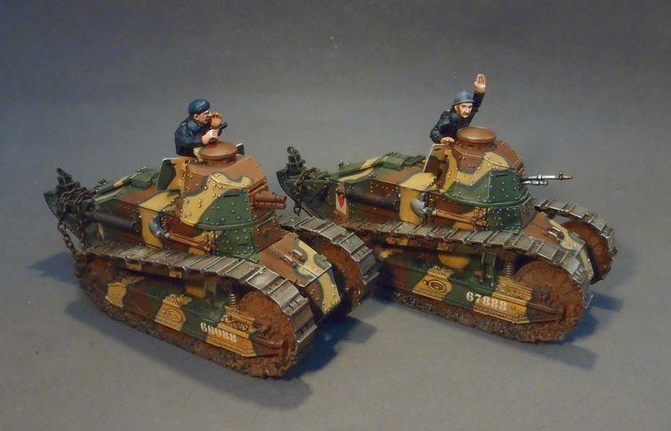 Gwf 007b Renault Ft Tank Crew 2