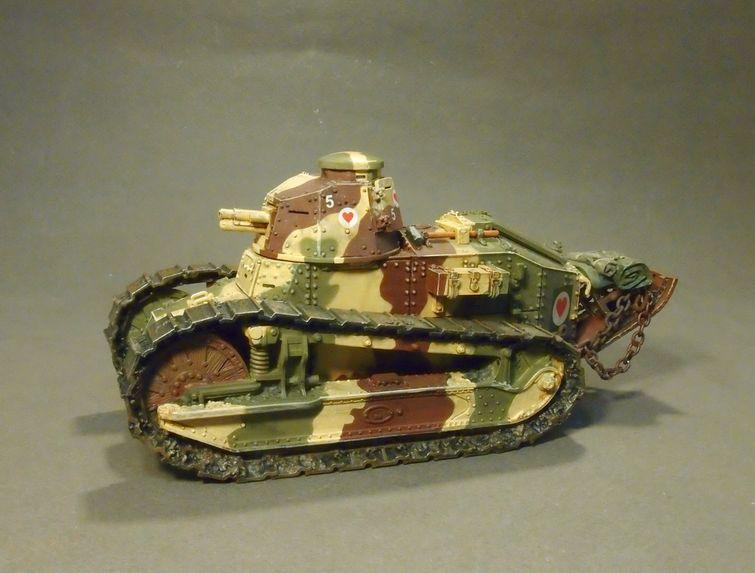 Gwus 007p Renault Ft Puteaux Sa 18 37mm Gun 2nd Platoon 1st