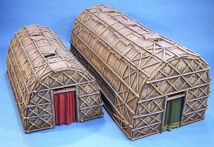 Pin iroquois longhouse diorama on pinterest
