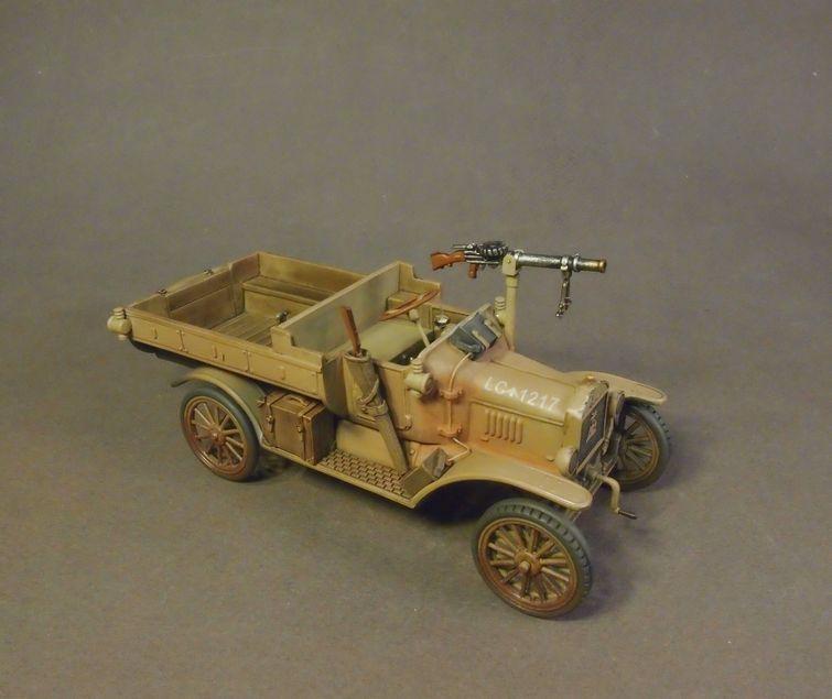 WAD-023 AUSTRALIAN 1st LIGHT CAR PATROL 1917, FORD MODEL T