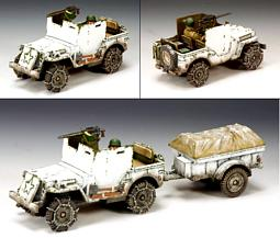 BBA050 -- US Armored Jeep (Winter Version)