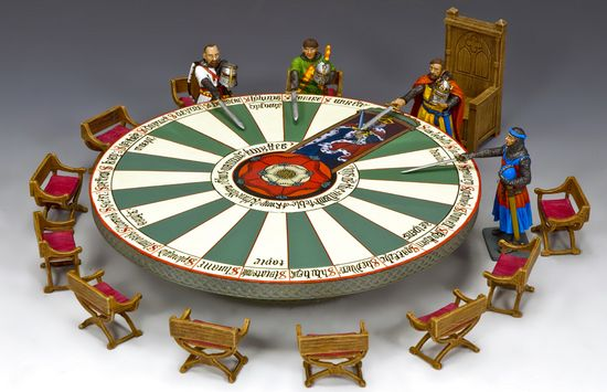 KING ARTHUR & KNIGHTS OF THE ROUND TABLE - Sierra Toy Soldier Company