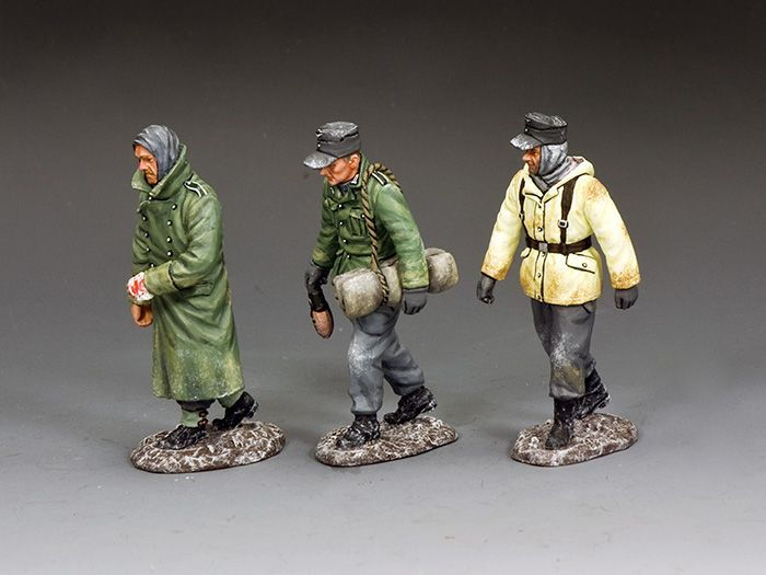 SGS-BBA002 GERMAN WINTER PRISONER SET (Set includes BBA070, BBA071 and BBA073)