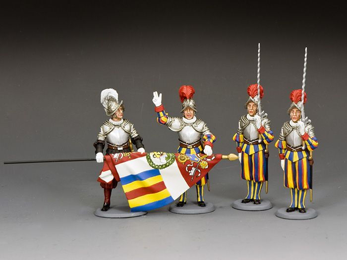 SGS-CE001 JOINING THE SWISS GUARD CEREMONY (includes CE025 x 1, CE026 x 1, CE02