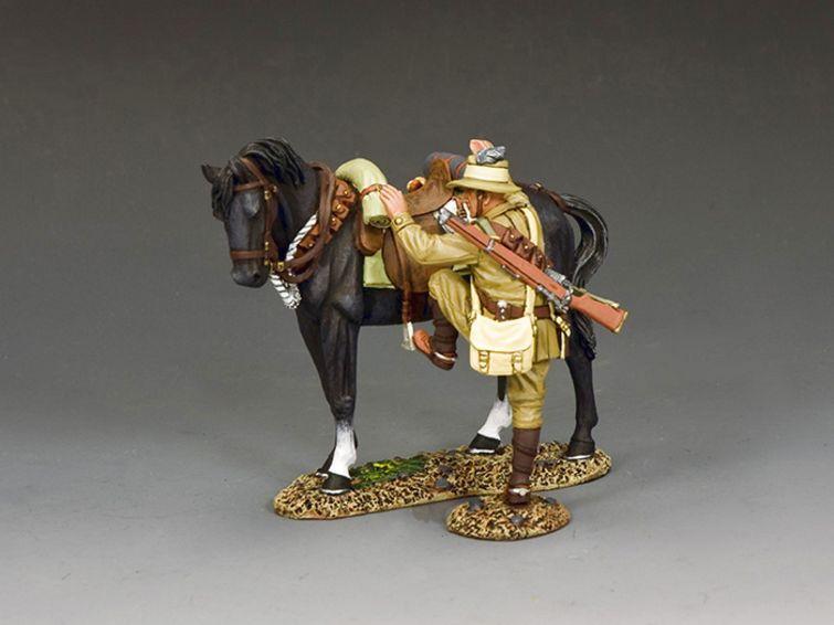 AL108 ALH Trooper Mounting Up (Brown Horse Version)