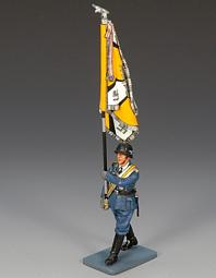 LW009 -- Marching Officer with Flag