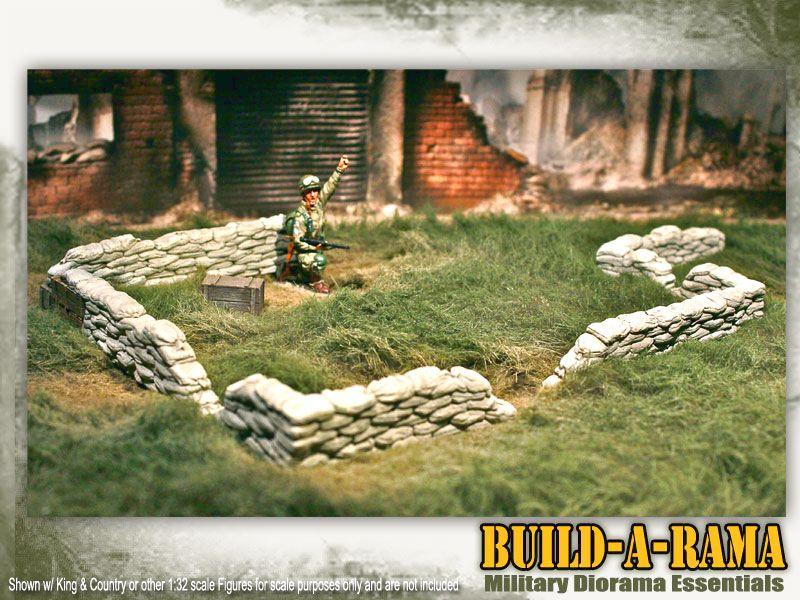 how to build sandbag walls