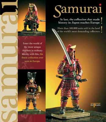 The Samurai Collection by Del Prado